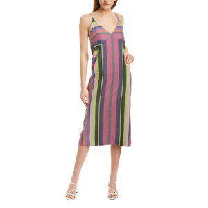 Mara Hoffman Striped Column Georgia Dress